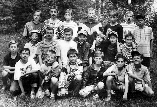 Кратово, август 1995 год