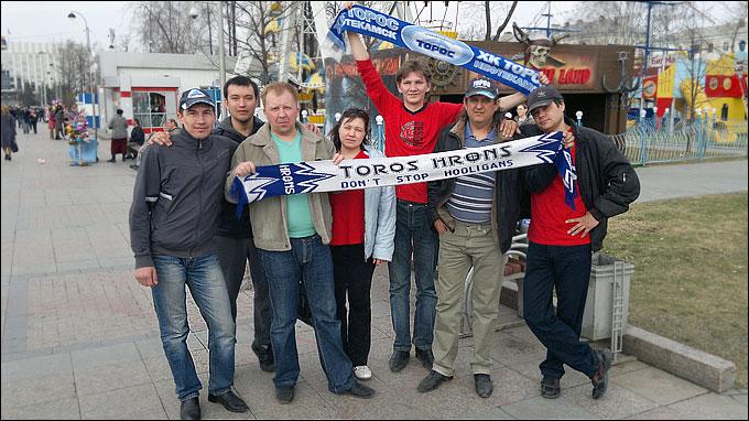 Нефтекамские болельщики готовы вернуться в Тюмень за победой, но предпочли бы выиграть Кубок дома