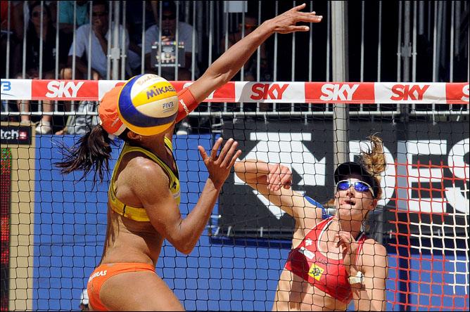 Чемпионат мира по пляжному волейболу