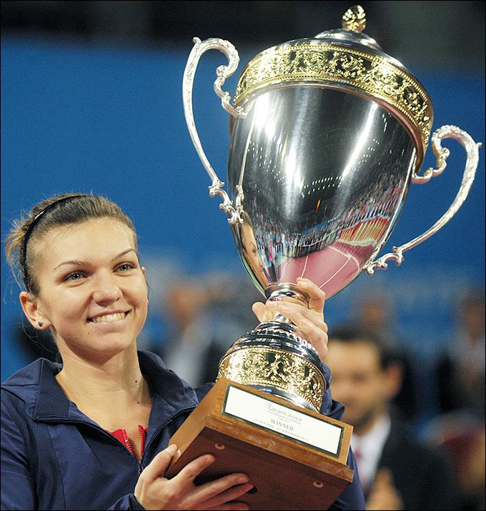 Симона Халеп завоевала шестой титул за полгода