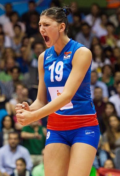 17-летняя Тиана Бошкович — восходящая звезда сборной Сербии