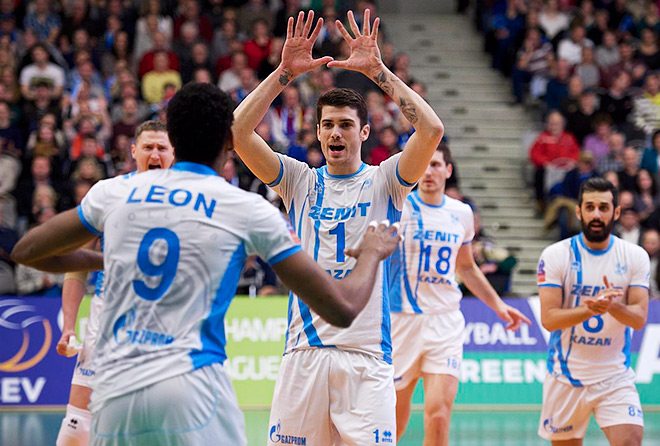 В матче с «Фридрихсхафеном» за «Зенит» впервые сыграли четыре легионера