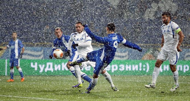 Калинич открывает счет в матче