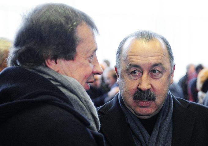 Юрий Сёмин и Валерий Газзаев