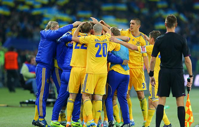 Октябрь. Украина в плей-офф