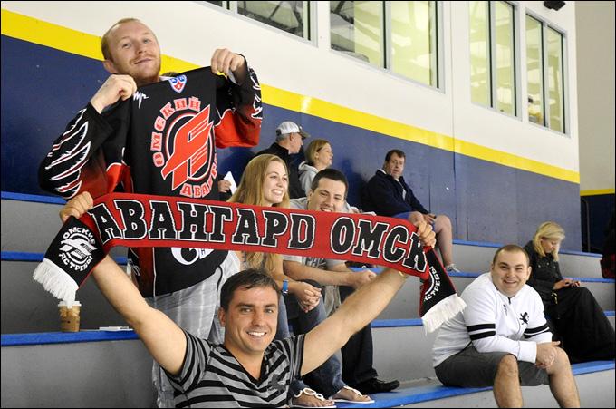 Омские болельщики есть даже в Бостоне