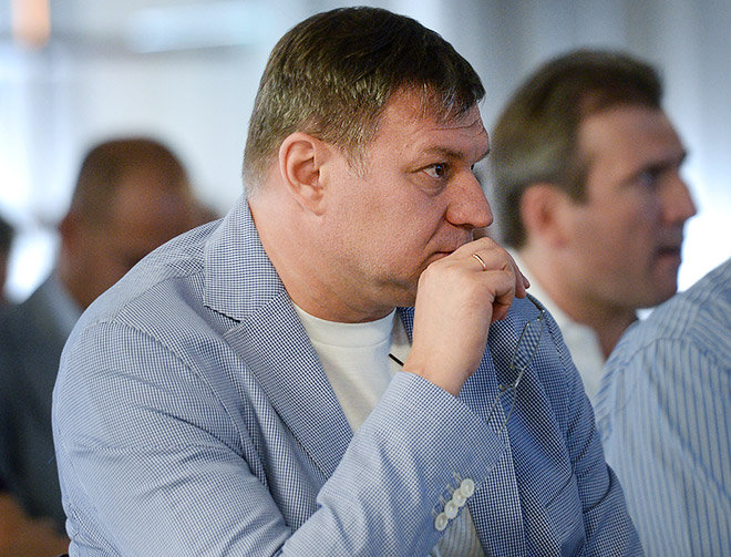 Руководитель уфимского клуба Олег Гросс