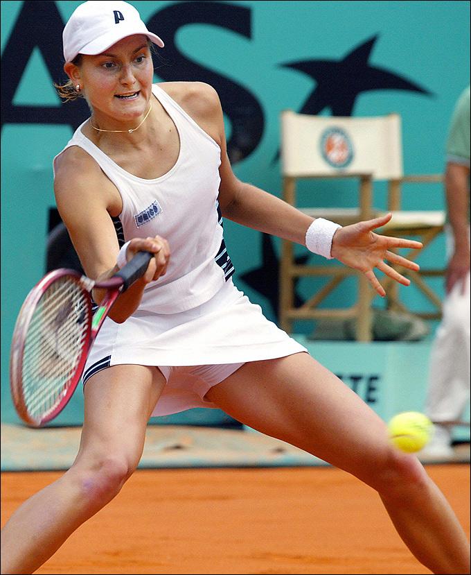 Надежда Петрова и Вера Звонарёва в 2003 году разыграли российский четвертьфинал