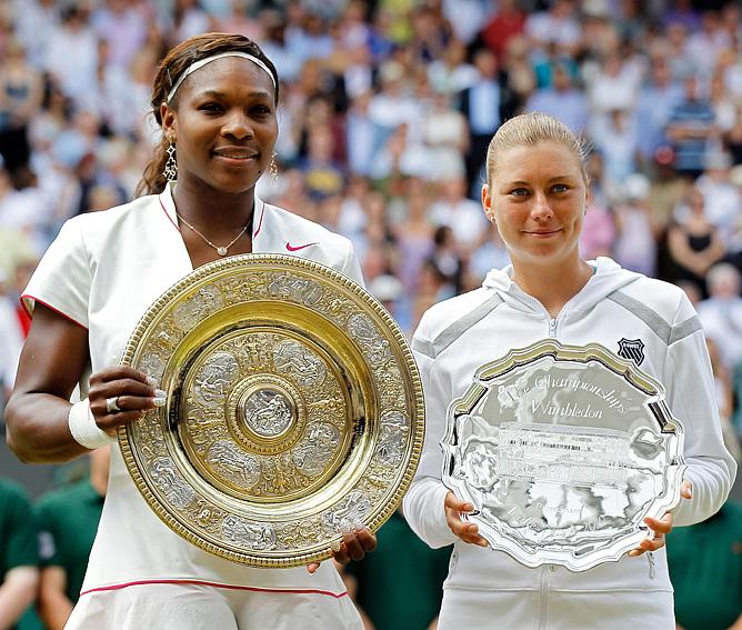Год назад в решающем матче турнира сыграли Серена Уильямс и Вера Звонарёва