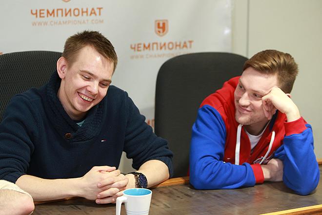 Иван Дубровский и Александр Новиков