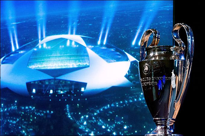 Онлайн-трансляция жеребьёвки Лиги чемпионов