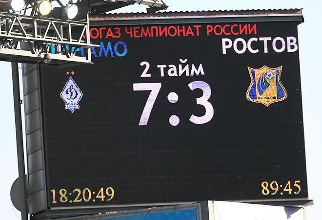 «Динамо» — «Ростов» — 7:3