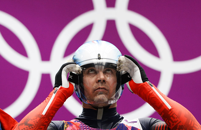 Альберт Демченко на Олимпиаде в Сочи