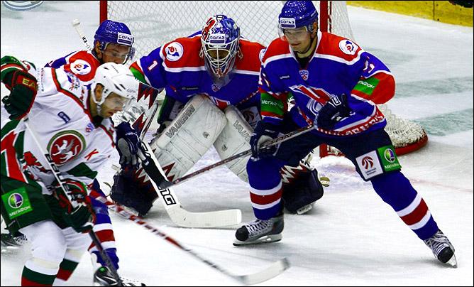 12.10.2010. КХЛ. Сибирь - Ак Барс - 2:3 ОТ. Фото 02.