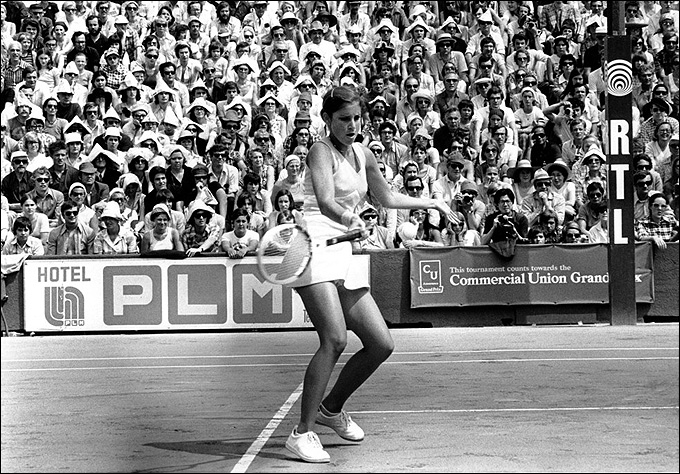 Крис Эверт в 1974 году не дала Ольге Морозовой стать чемпионкой в Париже