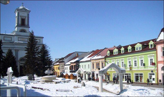 Красивый словацкий городок Попрад.