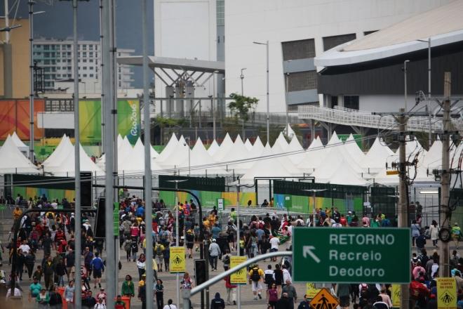 Болельщики в Рио
