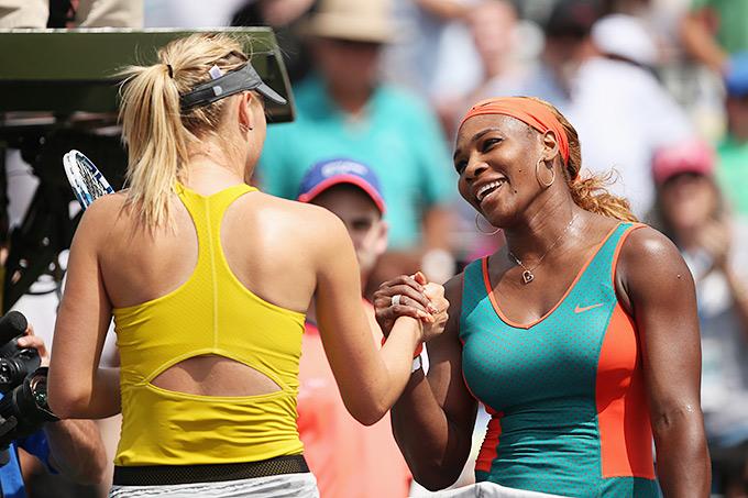 Мария Шарапова vs Серена Уильямс