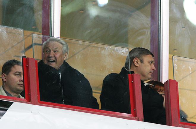 Борис Ельцин и Михаил Касьянов