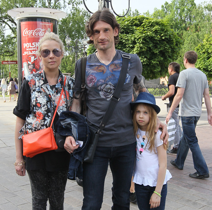 Роман Шаронов с семьёй