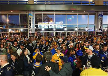 Так в Сент-Луисе начинается хоккейный сезон