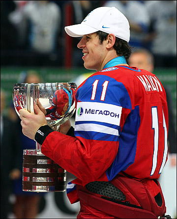 Евгений Малкин — чемпион мира
