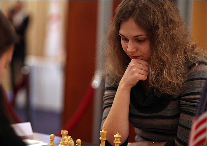 Красота Анны Музычук легко покоряет мужчин, а ум – соперниц по шахматным баталиям