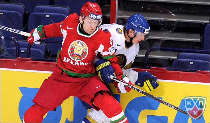 Константин Кольцов в сборной Белоруссии
