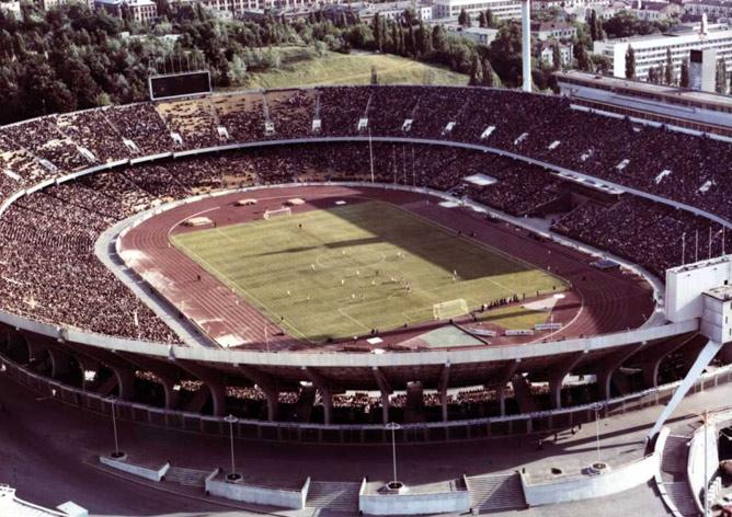 Так выглядел Республиканский стадион столицы Украины в 1980-х годах