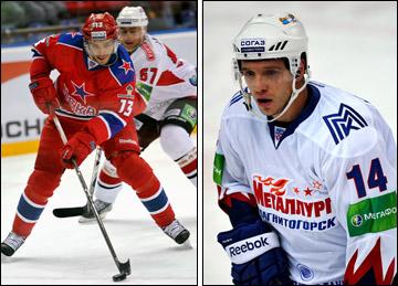 Павел Дацюк и Николай Кулёмин