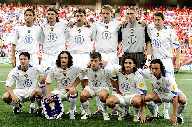 Сборная России на Евро-2004
