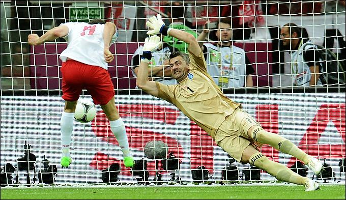Первый гол Евро-2012