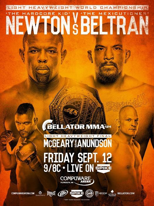 Постер к турниру Bellator 124