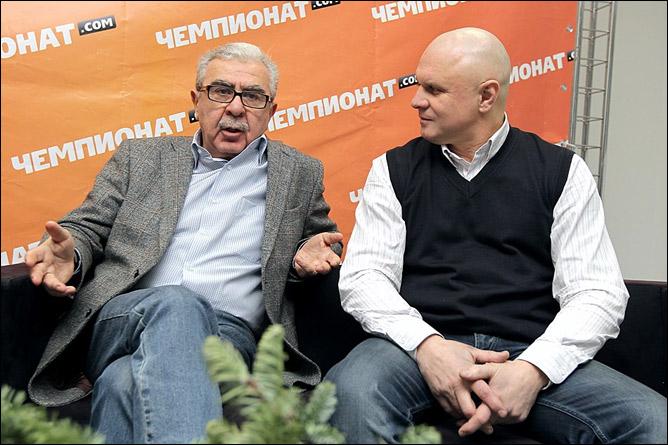 Борис Скрипко и Андрей Шкаликов