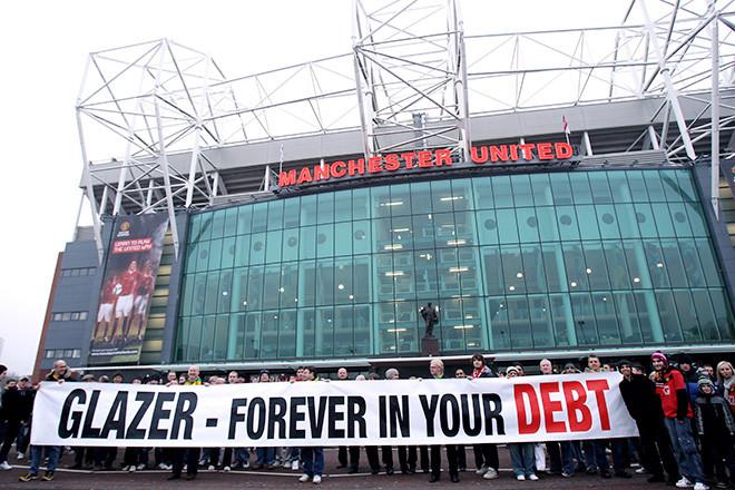 """Самая большая задолженность в футболе, по версии Guardian, у """"Манчестер Юнайтед"""""""