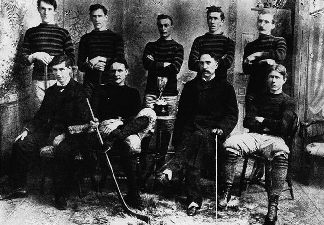 История Кубка Стэнли. Сезон 1894/95. Команда Университета Куин.
