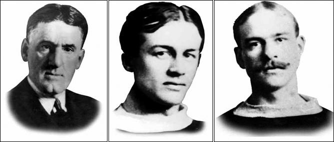 История Кубка Стэнли. Сезон 1894/95. Рассел Боуи, Грэм Дринкуотер и Майк Грант.