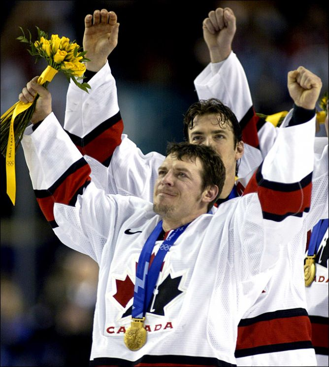 Тео Флери — Олимпийский чемпион 2002 года.