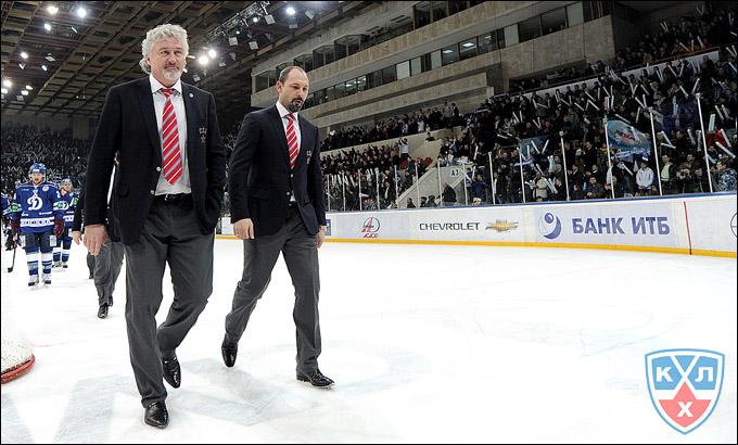 Милош Ржига и Сергей Зубов