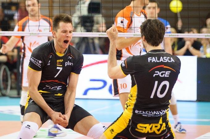 Бартош Курек и Мигель Фаласка в прошлом сезоне выступали за польскую СКРА