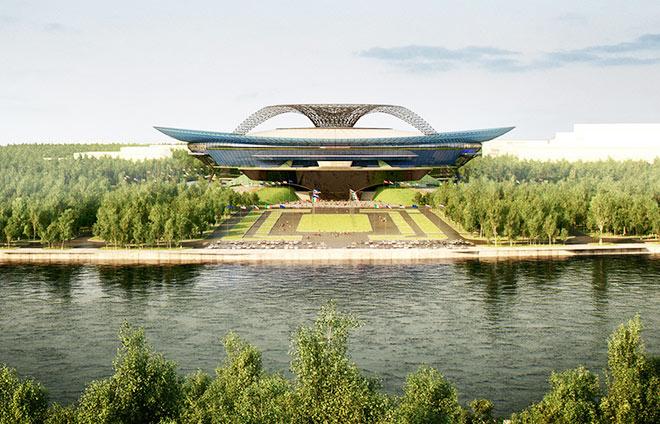 "Проект стадиона ""Лужники"""