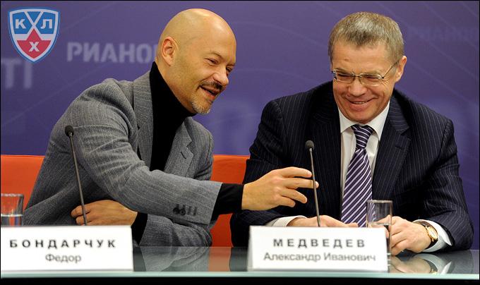 Фёдор Бондарчук и Александр Медведев