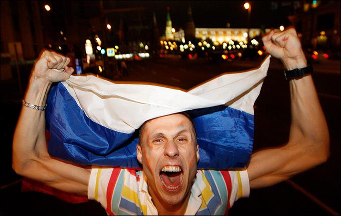 Москва празднует победу!