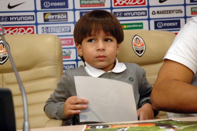 Четырёхлетний сын Жадсона сказал, что его папа лучше играет в футбол, чем он