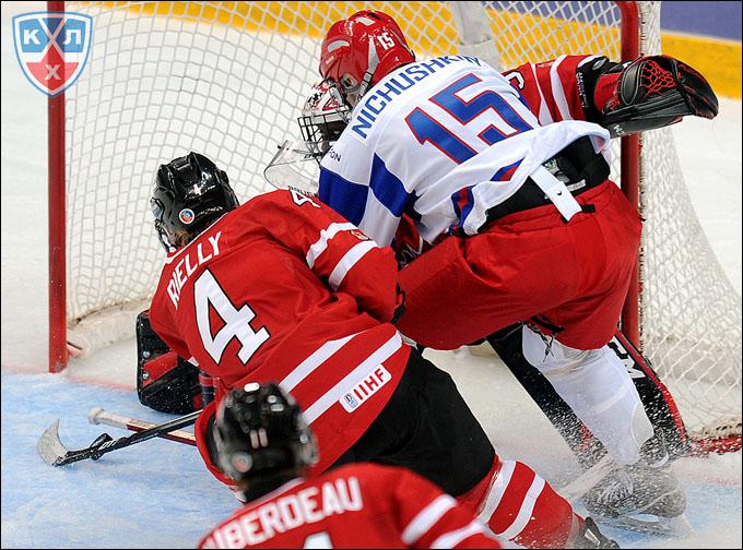 Валерий Ничушкин и его решающий гол канадцам на молодежном чемпионате мира