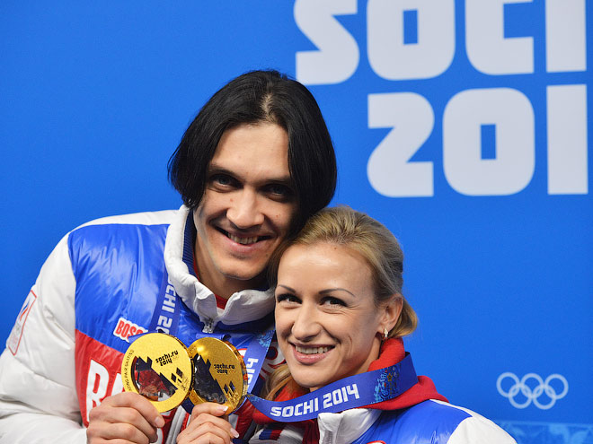 Максим Траньков и Татьяна Волосажар