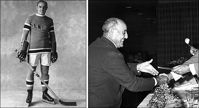 Чинг Джонсон, справа — в 1958 году