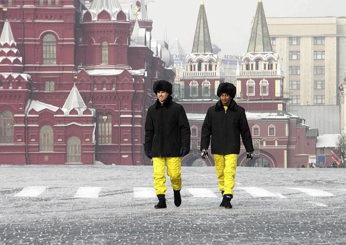 Тьягу Монтейру и Нараин Картикеян в Москве в 2005-м