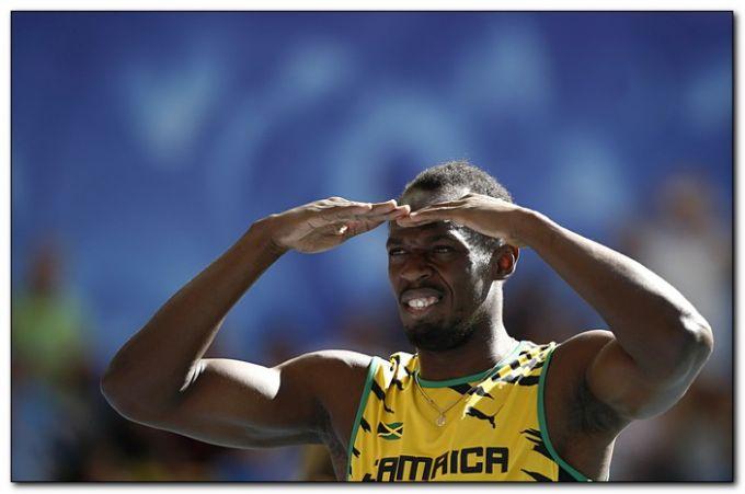 Усейн Болт без проблем вышел в финал на 200 метров