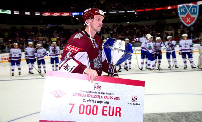Сандис Озолиньш — самый ценный игрок турнира